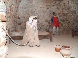 La Prison des Dames a accueilli des personnes de haut rang.