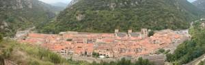 Panorama de Villefranche de conflent - Commons Wikipedia